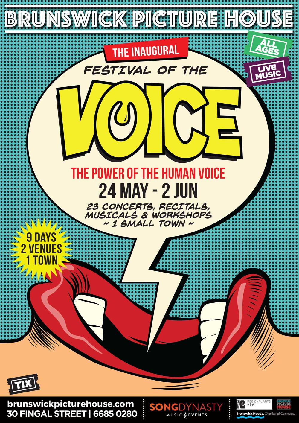 Festival of the Voice Brusnwick Heads